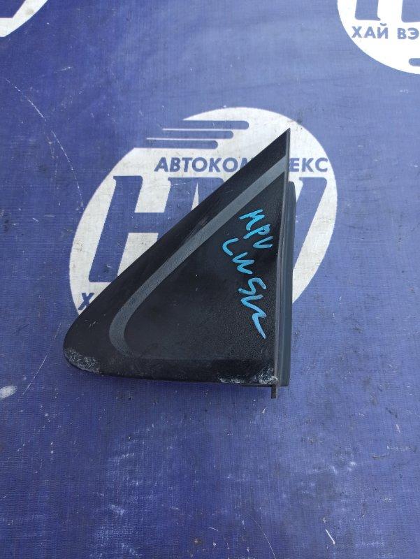 Уголок крыла Mazda Mpv LW5W GY левый (б/у)