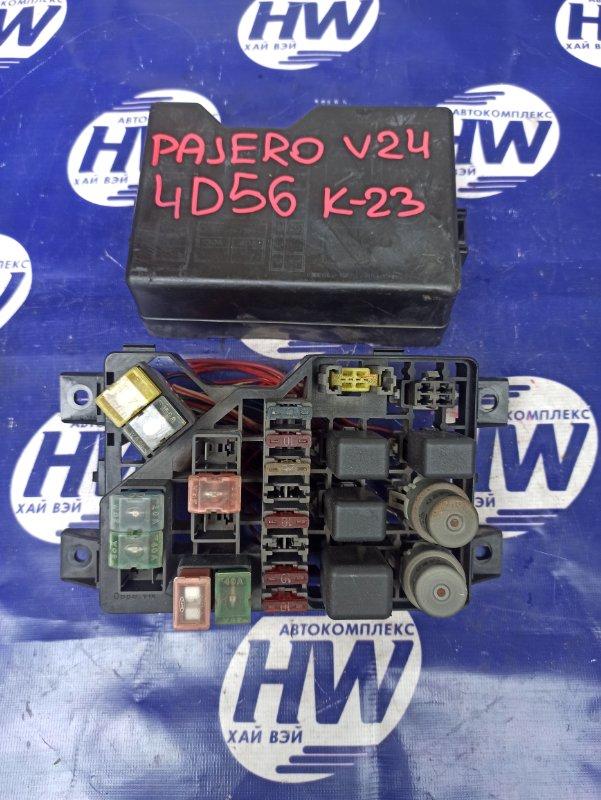 Блок предохранителей Mitsubishi Pajero V24 4D56 (б/у)