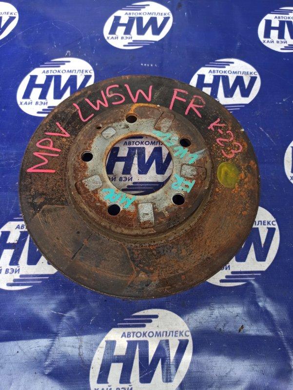 Диск тормозной Mazda Mpv LW5W GY передний (б/у)