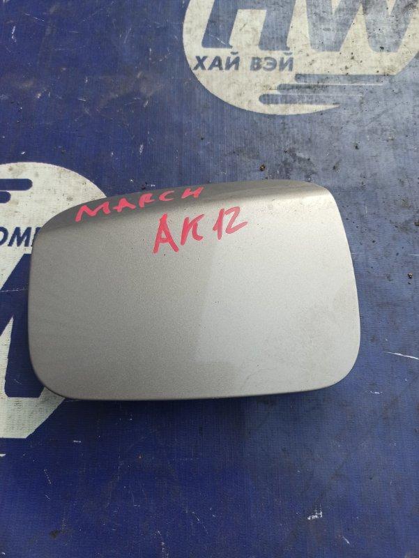 Лючок бензобака Nissan March AK12 CR12 (б/у)