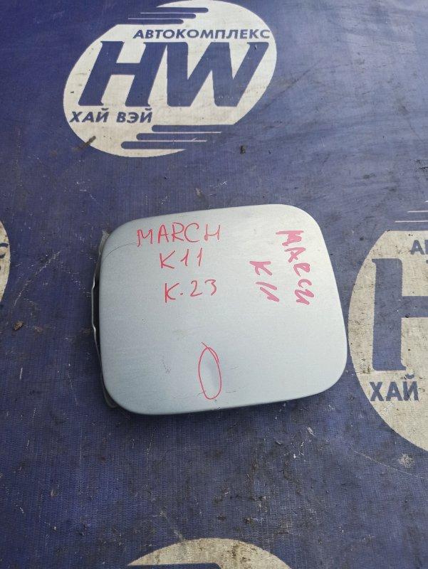 Лючок бензобака Nissan March K11 CG10 (б/у)