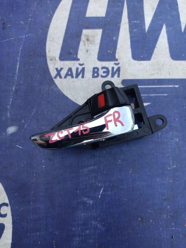Ручка двери внутренняя Toyota Opa ZCT15 1ZZ передняя правая (б/у)