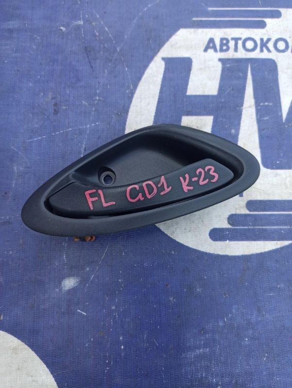 Ручка двери внутренняя Honda Fit GD1 L13A передняя левая (б/у)