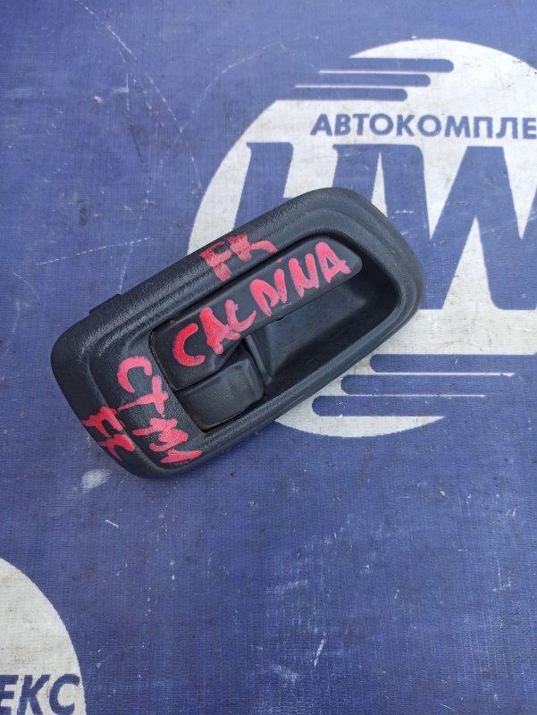 Ручка двери внутренняя Toyota Caldina CT196 2C передняя правая (б/у)