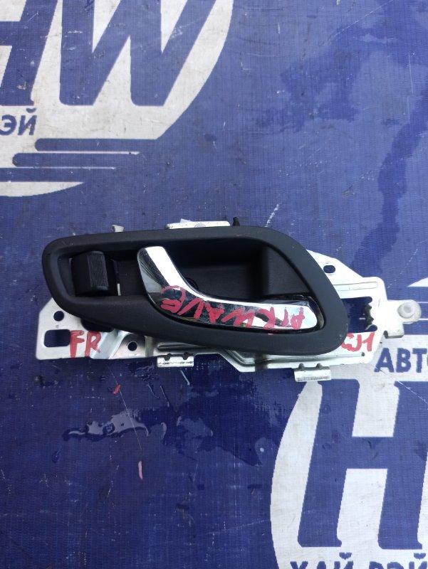 Ручка двери внутренняя Honda Airwave GJ1 L15A передняя правая (б/у)