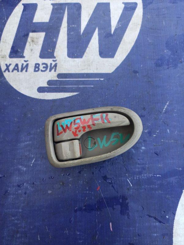 Ручка двери внутренняя Mazda Mpv LW5W GY передняя правая (б/у)