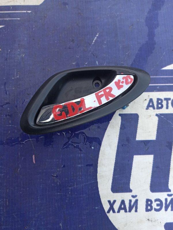 Ручка двери внутренняя Honda Fit GD1 L13A передняя правая (б/у)