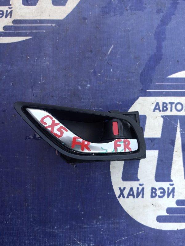 Ручка двери внутренняя Mazda Cx-5 KE2FW SH передняя правая (б/у)