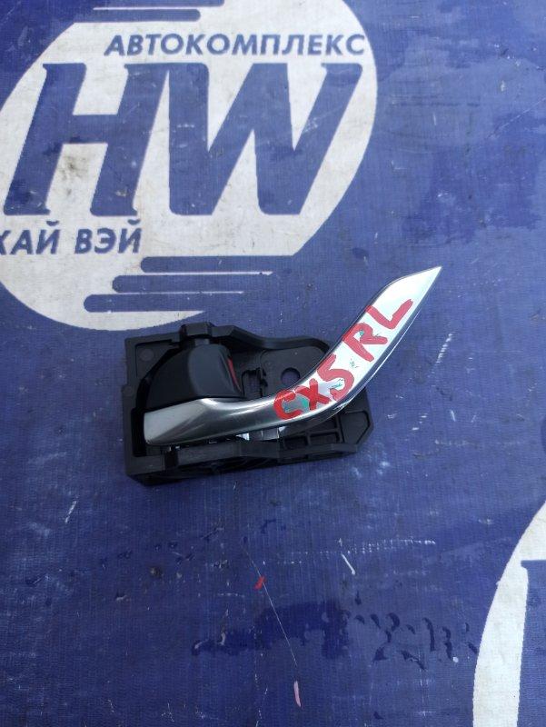 Ручка двери внутренняя Mazda Cx-5 KE2FW SH задняя левая (б/у)