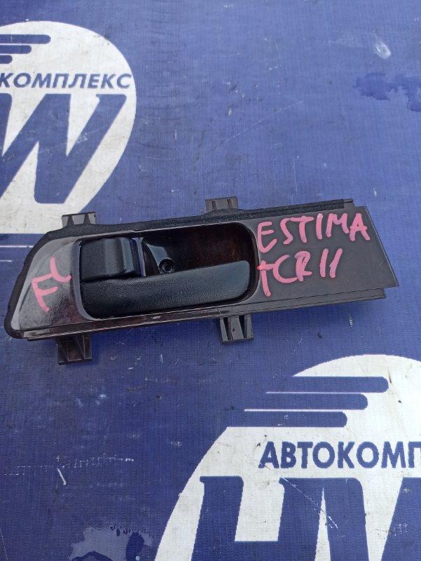 Ручка двери внутренняя Toyota Estima TCR11 2TZFZE передняя левая (б/у)