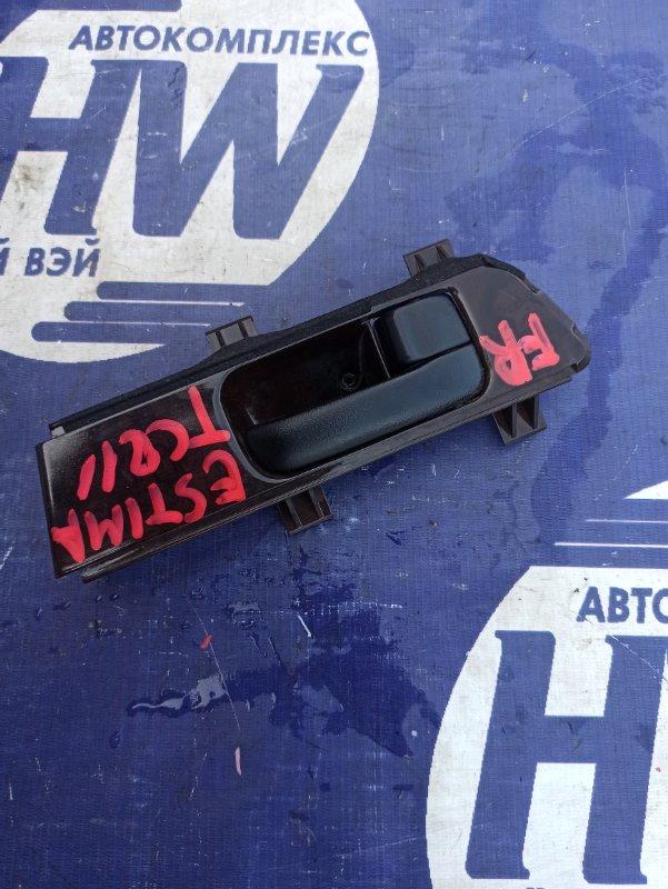 Ручка двери внутренняя Toyota Estima TCR11 2TZFZE передняя правая (б/у)