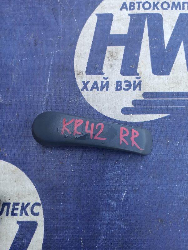 Ручка двери внутренняя Toyota Noah KR42 7K задняя правая (б/у)