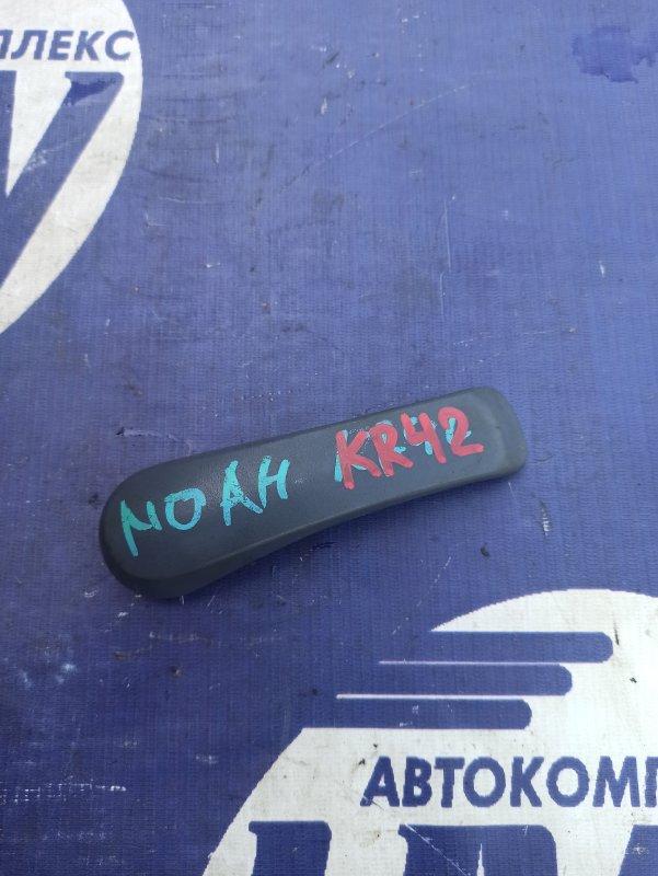 Ручка двери внутренняя Toyota Noah KR42 7K задняя левая (б/у)