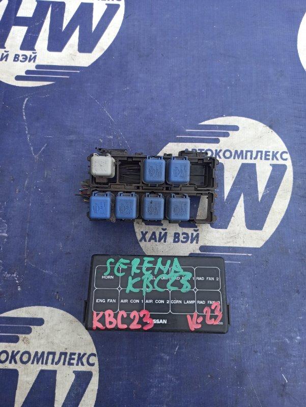 Блок предохранителей Nissan Serena KBC23 SR20DE (б/у)