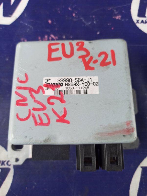 Блок управления рулевой рейкой Honda Civic EU3 D17A (б/у)