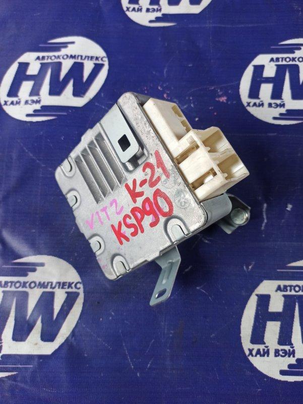 Блок управления рулевой рейкой Toyota Vitz KSP90 1KR (б/у)