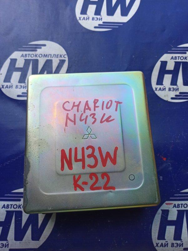 Блок управления efi Mitsubishi Chariot N43W 4G63 (б/у)