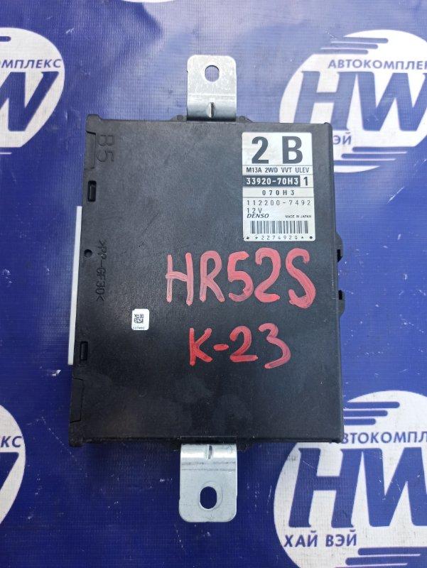Блок управления efi Suzuki Chevrolet Cruze HR52S M13A (б/у)