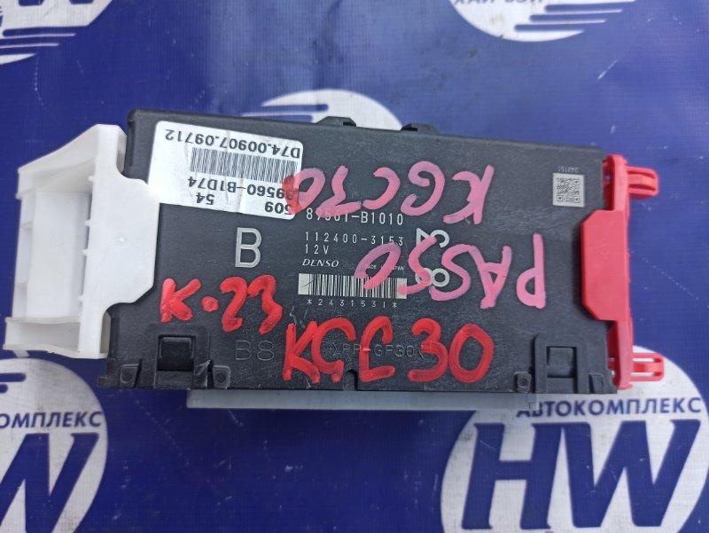 Блок управления efi Toyota Passo KGC30 1KR (б/у)