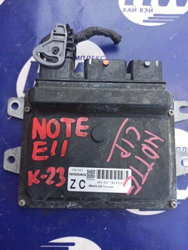Блок управления efi Nissan Note E11 HR15 (б/у)