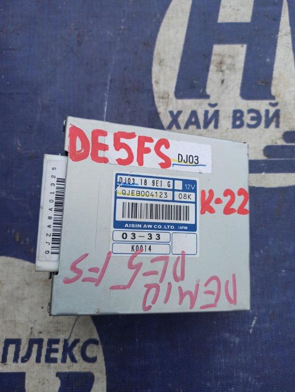 Блок переключения кпп Mazda Demio DE5FS ZJ (б/у)