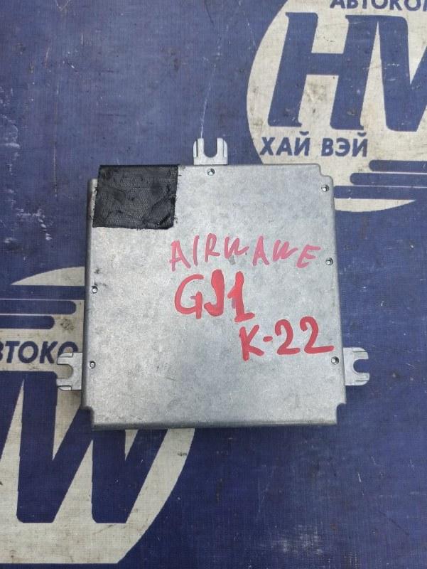 Блок управления efi Honda Airwave GJ1 L15A (б/у)