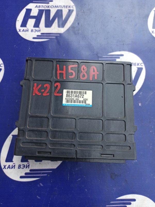 Компьютер двс Mitsubishi Pajero Mini H58A 4A30 (б/у)