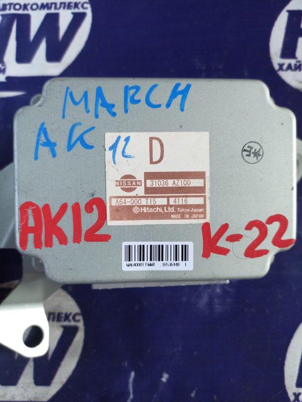 Блок управления акпп Nissan March AK12 CR12 (б/у)