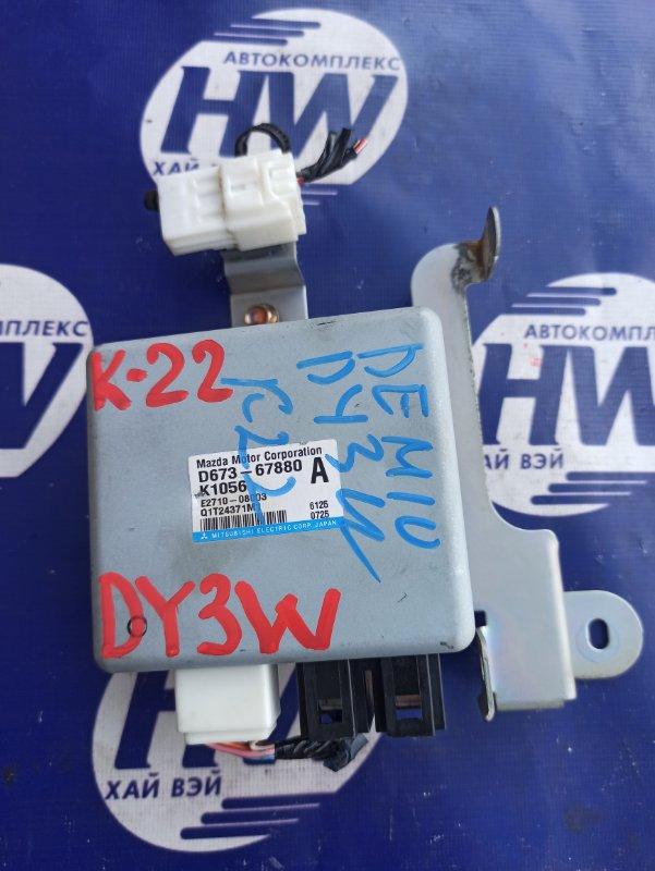Блок управления рулевой рейкой Mazda Demio DY3W ZJ (б/у)
