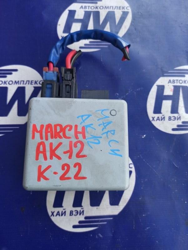 Блок управления рулевой рейкой Nissan March AK12 CR12 (б/у)