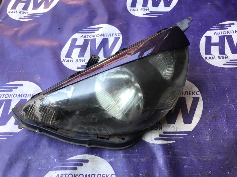 Фара Honda Fit GD1 L13A левая (б/у)