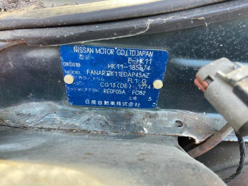 Автомат Nissan March HK11 CG13 (б/у)