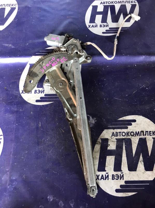 Стеклоподъемник Toyota Corolla Spacio AE111 4A задний правый (б/у)