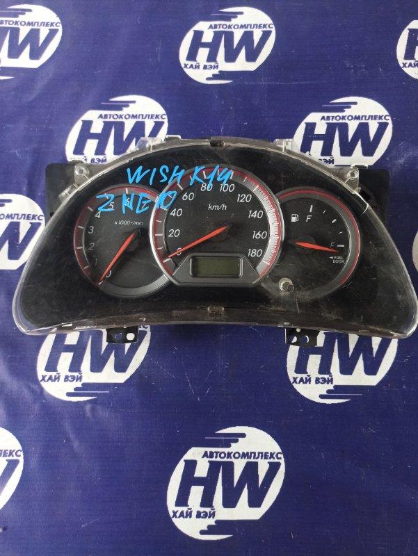 Панель приборов Toyota Wish ZNE10 1ZZ (б/у)