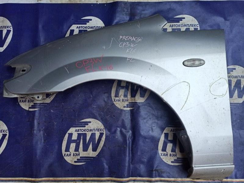 Крыло Mazda Premacy CP8W FP переднее левое (б/у)