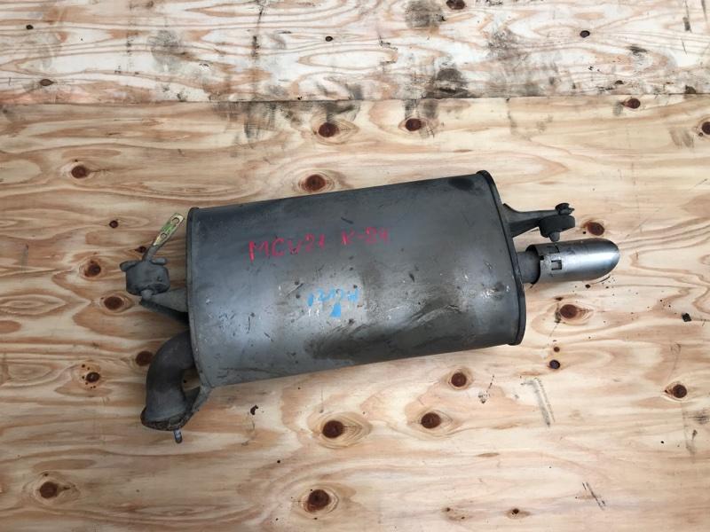 Глушитель Toyota Mark Ii Qualis MCV21 2MZ (б/у)