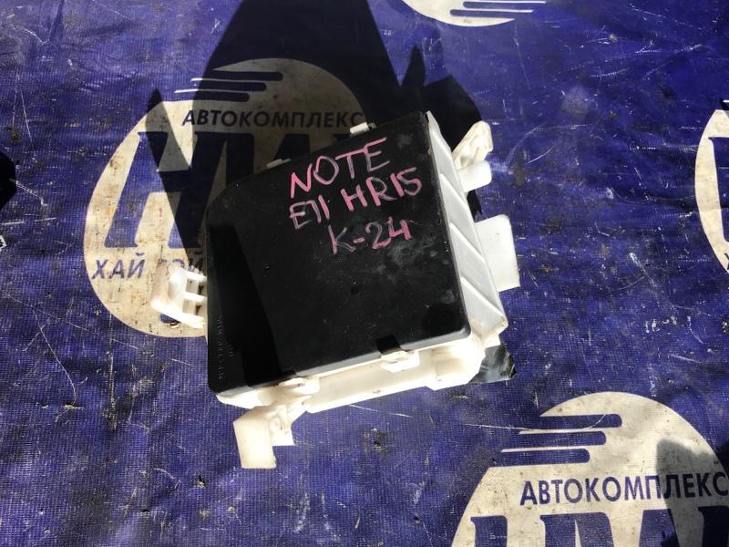 Блок предохранителей Nissan Note E11 HR15 (б/у)