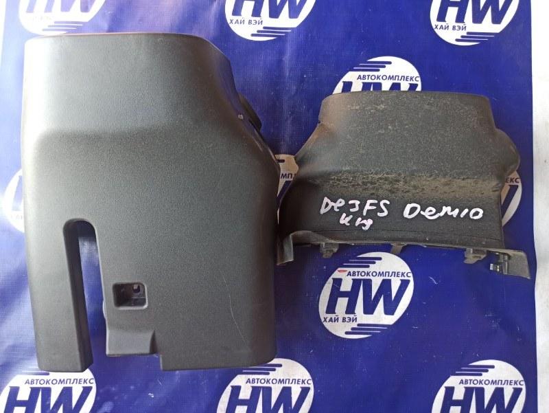 Кожух рулевой колонки Mazda Demio DE3FS ZJ (б/у)