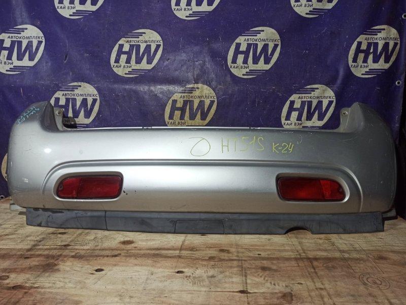Бампер Suzuki Swift HT51S M13A задний (б/у)