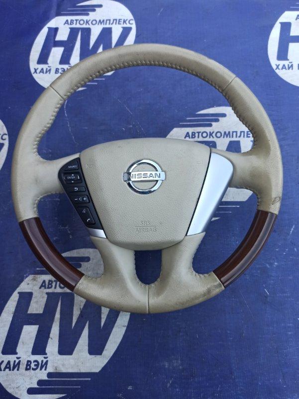 Руль Nissan Teana J32 VQ25 (б/у)