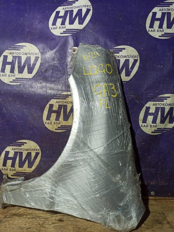 Крыло Honda Logo GA3 D13B переднее левое (б/у)