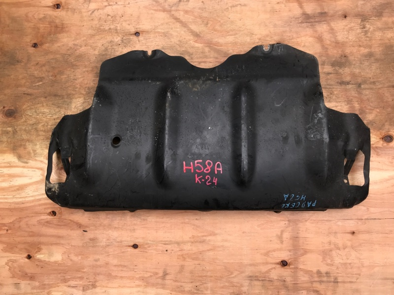 Защита двигателя Mitsubishi Pajero Mini H58A 4A30 (б/у)