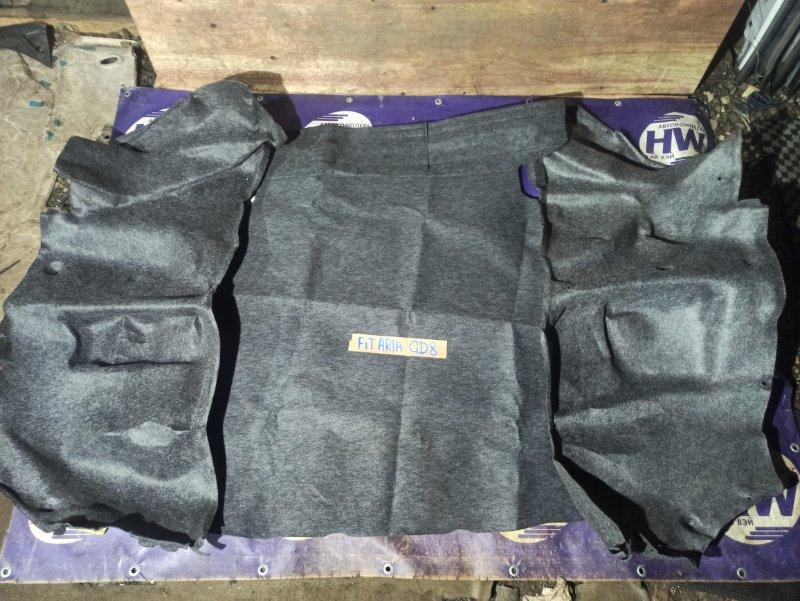 Обшивка багажника Honda Fit Aria GD8 L15A (б/у)