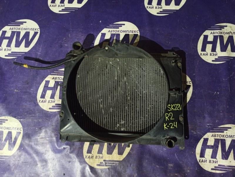 Радиатор Mazda Bongo SK22V R2 (б/у)