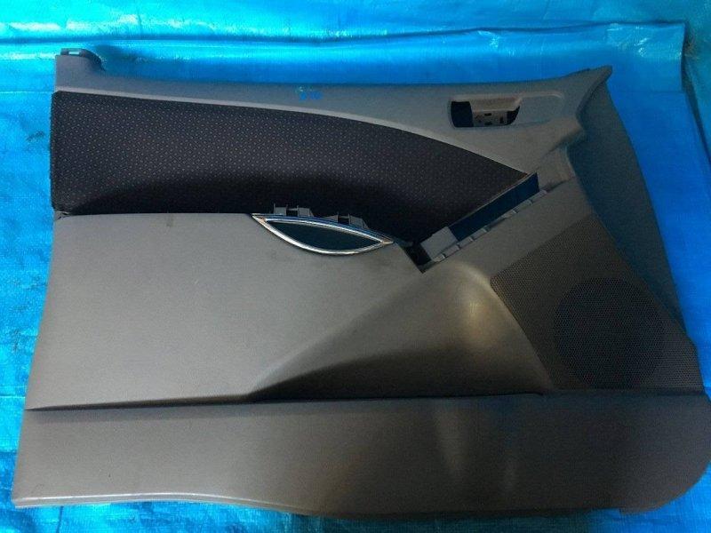 Обшивка дверей Toyota Isis ANM10 1AZFSE передняя левая (б/у)