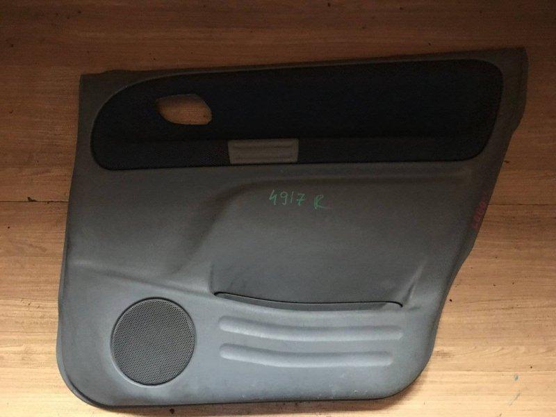 Обшивка дверей Suzuki Escudo TX92W H27A задняя правая (б/у)