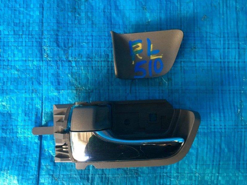 Ручка двери внутренняя Toyota Isis ANM10 1AZFSE передняя левая (б/у)