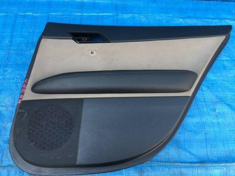 Обшивка дверей Toyota Mark X GRX120 3GRFSE задняя правая (б/у)