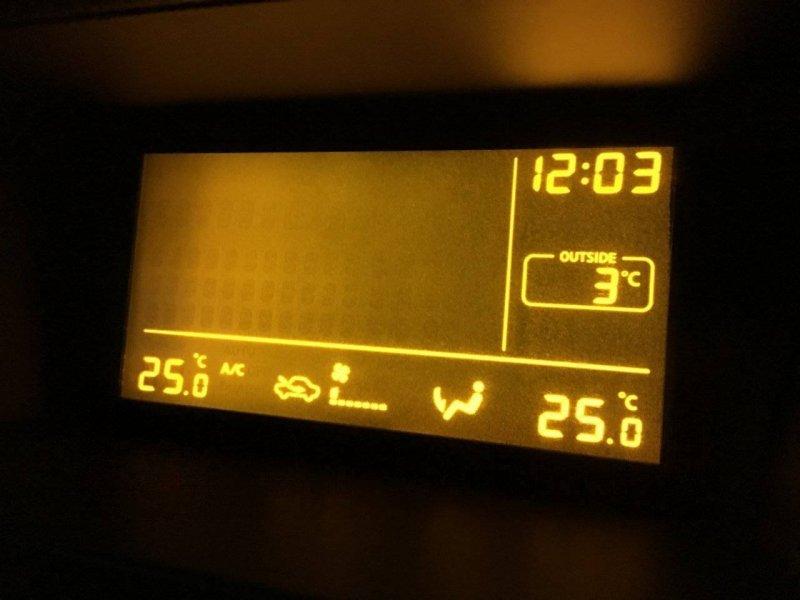 Монитор Nissan Teana J31 QR25DE (б/у)