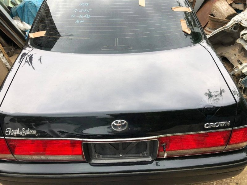 Крышка багажника Toyota Crown GS151 1GFE (б/у)
